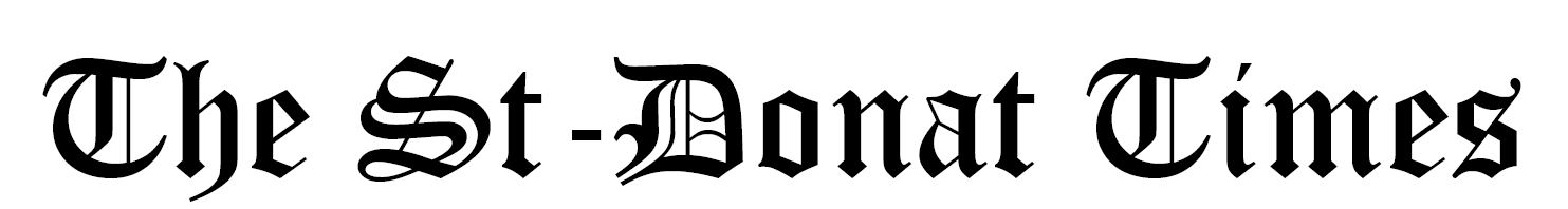 logo the saint donat times